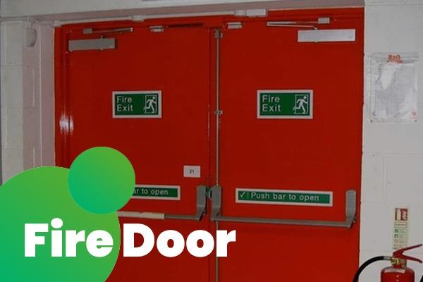 Pintu Besi Fire Door